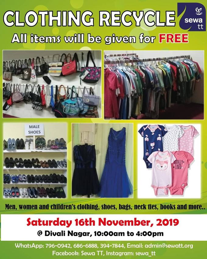Clothing Recycle - Nov 16th  2019