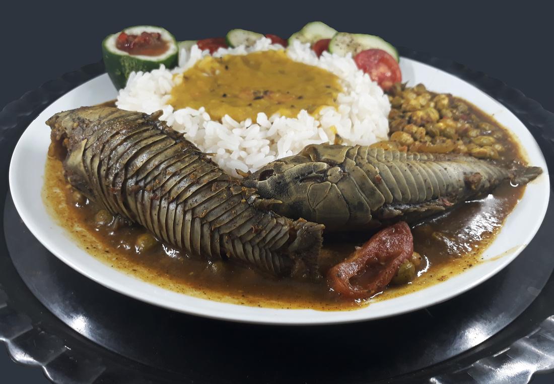 Cascadura , Local Trinidad Food